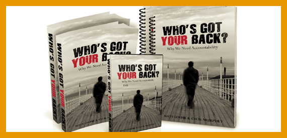 Who's Got Your Back? - Book/Study Guide/DVD